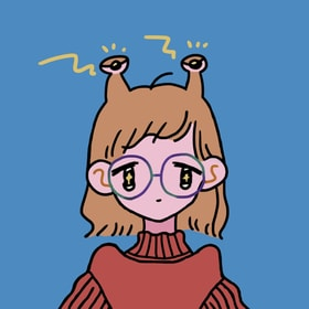 【SNSアイコンに使用可/似顔絵】Are you an alien?